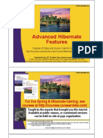 Advanced Hibernate Features