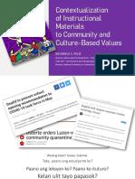 2020.04.29 Palis r Contextualizatn of Instructnal Matls to Community Culture Based