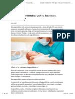 Enfermeria Pediatrica Notas