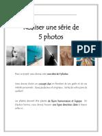 Consignes projet photo et grille d'évaluation