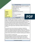 Ficha Técnica del Proyecto.