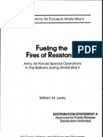 Fueling the Fires of Resistance AAF Special Operations in the Balkans During World War II