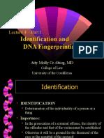 LM4 - (I) Identification & DNA Fingerprinting