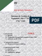 Presentacion ISO 17799