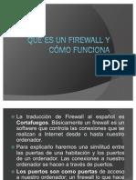 Qué es un Firewall y cómo funciona
