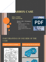 Gearbox Case - Manufacturing Process
