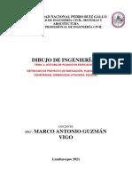 TEMA 01 - LECTURA DE PLANOS EN EDIFICACIONES