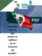 ACT 1. Investigación de que puntos se califican en un concurso de escolta (Hernández Carrillo Stephanny 6.f)
