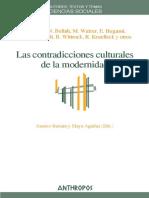 Josetxo Beriain Las Contradicciones Culturales de La Modernidad
