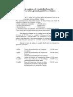 Cas de synthèse n 1 _ Société BIGFLASH SA Bilan d ouverture, journal, grand-livre et balance