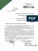 REG UE 625 _ Disposizioni Transitorie