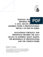 Teologia Agostiniana e Reformada - Sola Gracia