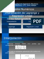 Interpolación y Regresión Lineal