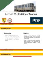 DYNA_Rectilinear Motion