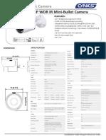 CNC-4181 IP HD Network Camera