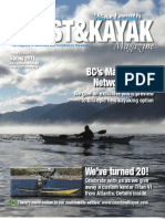 Coast&Kayak / Wavelength Magazine Spring 2011