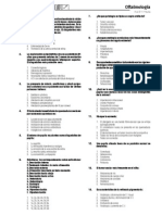 Autoevaluaciones Oftalmologia (Primera Vuelta)