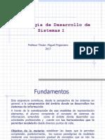 1.1.Introducción  MDS I Primera Clase 2017
