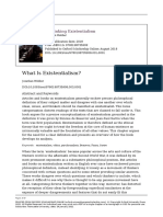 Webber - Rethinking existentialsim Chapter 1