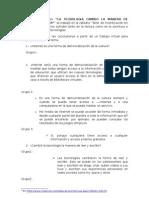 LA TECNOLOGIA CAMBIO LA MANERA DE ESCRIBIR Y DE LEER