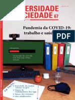 SEMINÁRIO 4 REFLEXOS da pandemia no ensino.Educação na pandemia. p.36  Revista Universidade e Sociedade