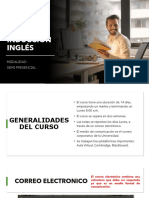 3. Inducción Inglés - Docente General