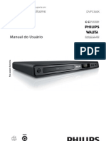 DVD Player Philips - Modelo  DVP3360K