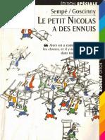 Sempe et Goscinny, Le petit Nicolas a des ennuis (Denoel, 1964)