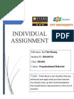 Individual Assignment _Lê Việt Hoàng_HS140714