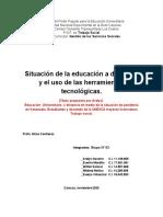 MATRIZ FODA - EQUIPO N° 03 - GESTIÓN SOCIAL