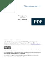 Psicologia social teoria e prática Silvia Lane