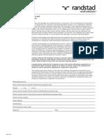 consumer report disclosure form