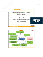 Topic 2 - Basis of Structural Design BS en 1990 .Pd