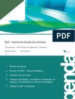 Treinamento Tecnico de Medição - Cadastros SGC Contratos