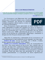 Hahnemann Prolegomenos de La Materia Medica (1)