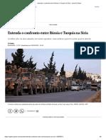 Entenda o confronto entre Rússia e Turquia na Síria - Jornal O Globo