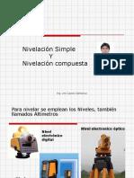 Nivelacion Simple y compuesta