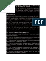 REGLAMENTO INTERNO DE LA ASOCIACIÓN DE EMPLEADOS MUNICIPALES DE IBARRA