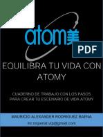 Cuaderno Escenario de Vida ATOMY Colombia