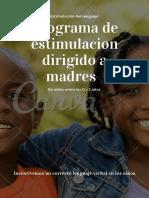 Programa Estimulacion Lenguaje