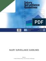 injury surveillance guidelines