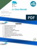 SD-WAN Meraki CiberC - APROVISIONAMIENTO
