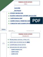 SESION SOPORTE 1-PRIMERA