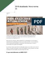 NBR 6122 modificações