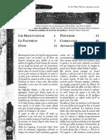 Scion Supplément Panthéon Manittowock