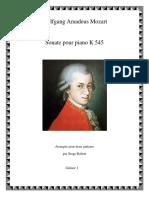 Mozart K545 Guitar 1
