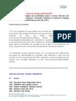 Ps - 21 1a Etapa Lista de Inscritos Ordem Alfabetica