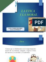 1.- LA ETICA Y LA MORAL LCDA AYALA