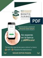 Bienestar Azteca Guia de Usuario APP