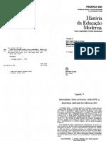 EBY, Frederick. História da educação moderna. p. 99-126